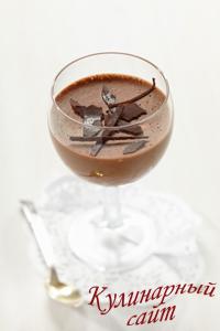 шоколадное желе3